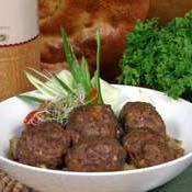 Fried mutton in Georgian way
