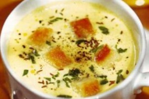 French cheese soup