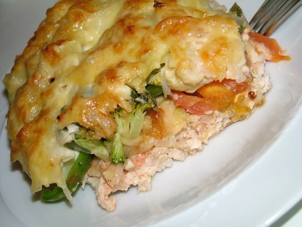 Chicken fillet with vegetable