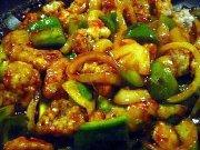 Китайское блюдо со свининой