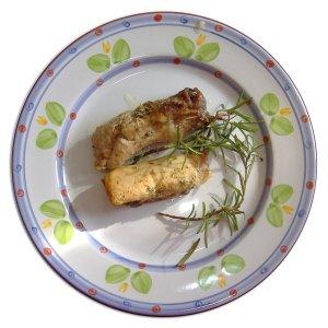 Рулет со свининым филе