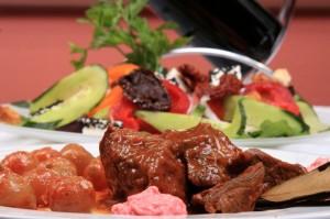Stifado. Greek cuisine