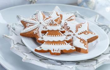 Новогоднее печенье Для деток