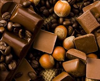 Десерт ореховый с шоколадом