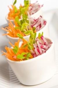 Chinese radish salad