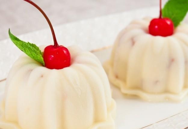 Мороженое с рикоттой и абрикосами