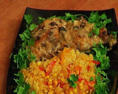 Chicken in Spanish way