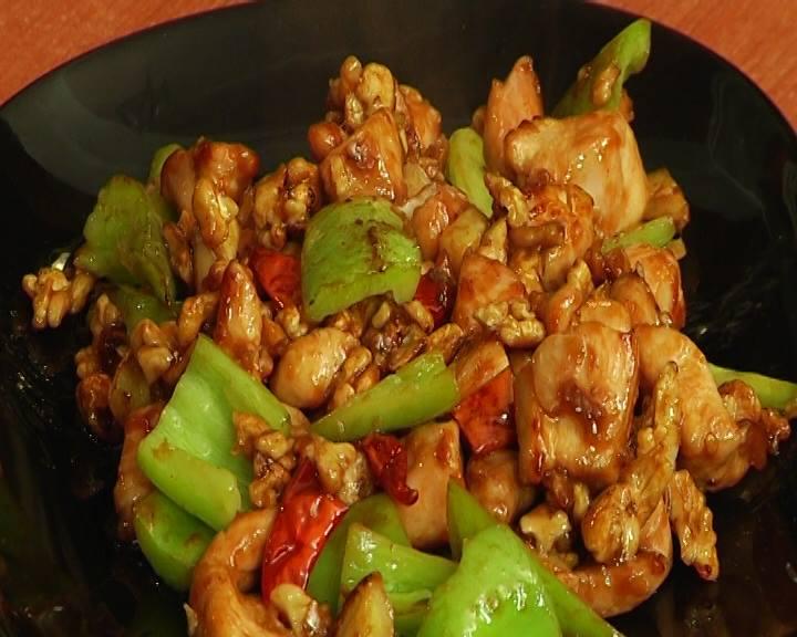 Кунгпао с куриным мясом