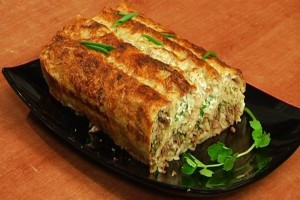 Buterbrot with  meat and lavash