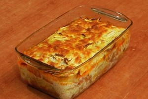 Lazagna with cabbage