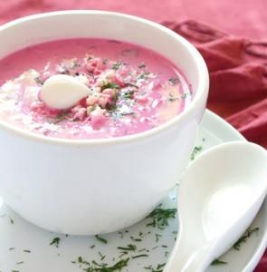 Beet cold soup