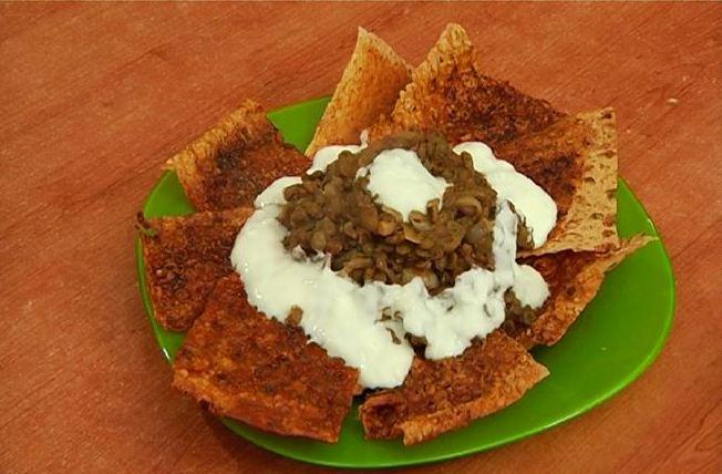 Appetizer with lentil