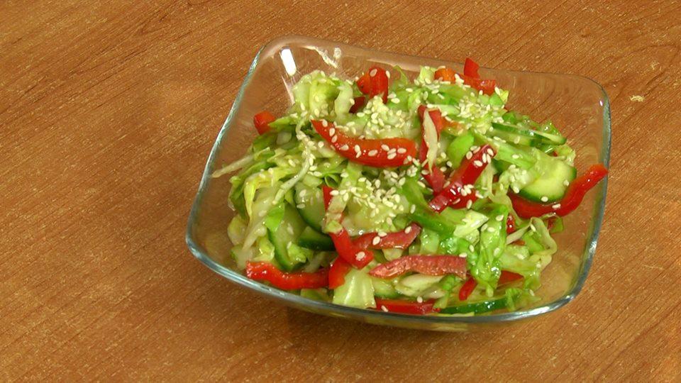 Fast making salad