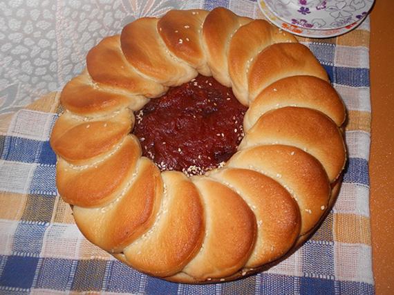 Ջեմով պահքային թխվածք
