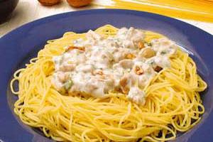Соус с грецким орехом для спагетти