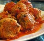 Мясные фрикадельки  по-итальянски