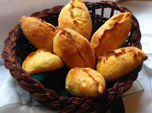 Французские пирожки в тесте
