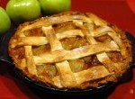 English pies with apples