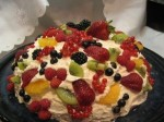 "Cake ""Hill of Fruits"""
