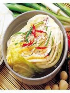 Կորեական խոհանոց. կաղամբով կիմչի
