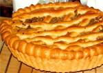 Постный пирог с капустой