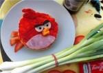 Բուտերբրոդներ Angry Birds