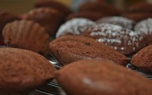Շոկոլադով և կիտրոնով մադլեններ