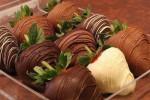 Ելակը շոկոլադով