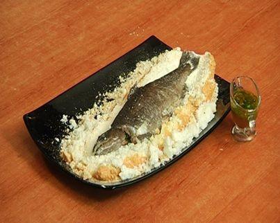 Թարխունի սոուսով ձուկ