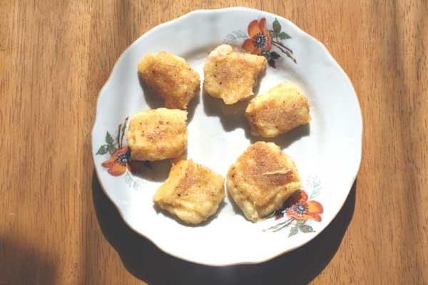 Fried rectangulars