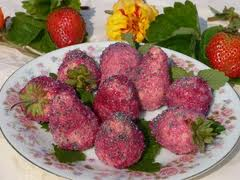 Wafer  Strawberries