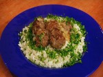 Meat balls with beer sauce